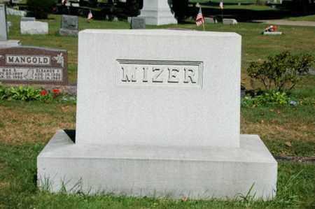 MIZER, BLAKE V. - Coshocton County, Ohio | BLAKE V. MIZER - Ohio Gravestone Photos