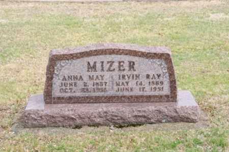 MIZER, ANNA MAY - Coshocton County, Ohio | ANNA MAY MIZER - Ohio Gravestone Photos