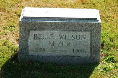 MIZER, BELLE - Coshocton County, Ohio   BELLE MIZER - Ohio Gravestone Photos