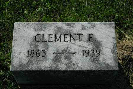 MIZER, CLEMENT E. - Coshocton County, Ohio   CLEMENT E. MIZER - Ohio Gravestone Photos