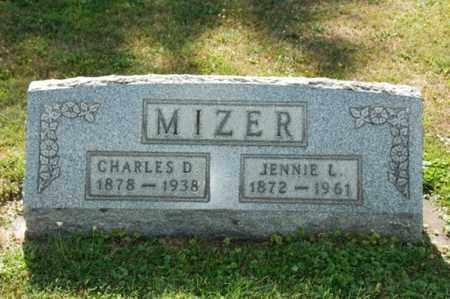 MIZER, CHARLES D. - Coshocton County, Ohio | CHARLES D. MIZER - Ohio Gravestone Photos