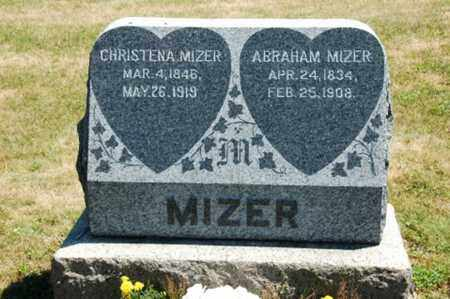 MIZER, ABRAHAM - Coshocton County, Ohio | ABRAHAM MIZER - Ohio Gravestone Photos