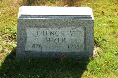 MIZER, FRENCH V. - Coshocton County, Ohio   FRENCH V. MIZER - Ohio Gravestone Photos