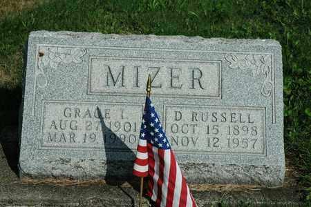 MIZER, GRACE I. - Coshocton County, Ohio | GRACE I. MIZER - Ohio Gravestone Photos