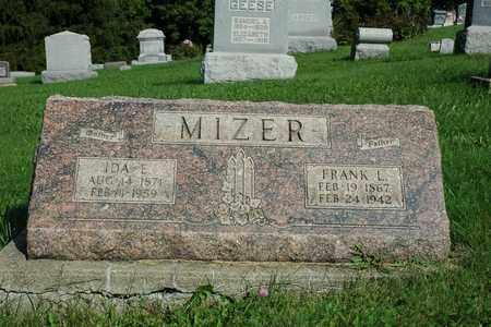MIZER, IDA E. - Coshocton County, Ohio   IDA E. MIZER - Ohio Gravestone Photos