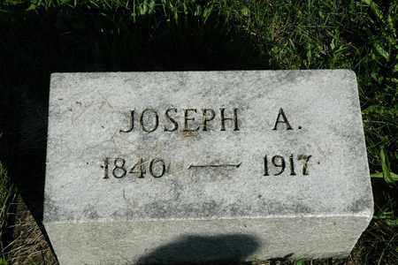 MIZER, JOSEPH A. - Coshocton County, Ohio   JOSEPH A. MIZER - Ohio Gravestone Photos