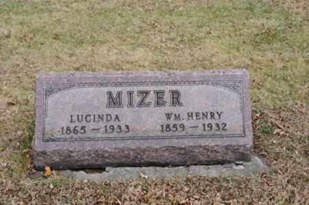 MIZER, LUCINDA - Coshocton County, Ohio | LUCINDA MIZER - Ohio Gravestone Photos