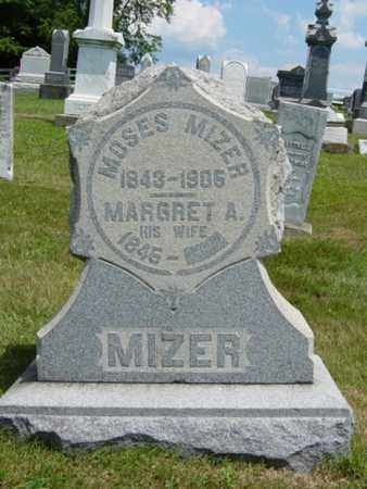 MIZER, MOSES - Coshocton County, Ohio   MOSES MIZER - Ohio Gravestone Photos