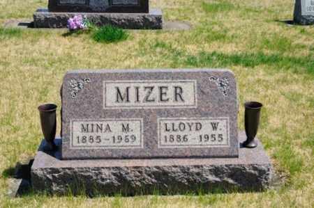 MIZER, MINA - Coshocton County, Ohio | MINA MIZER - Ohio Gravestone Photos