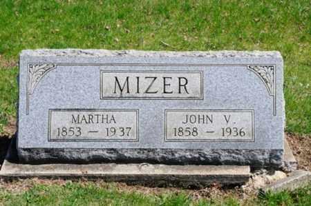 MIZER, MARTHA - Coshocton County, Ohio | MARTHA MIZER - Ohio Gravestone Photos