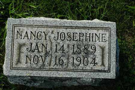MIZER, NANCY JOSEPHINE - Coshocton County, Ohio   NANCY JOSEPHINE MIZER - Ohio Gravestone Photos