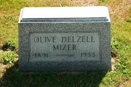 MIZER, OLIVE - Coshocton County, Ohio   OLIVE MIZER - Ohio Gravestone Photos