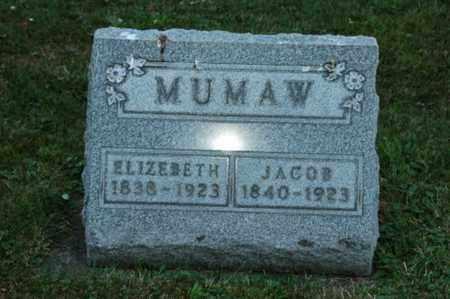 MUMAW, JACOB - Coshocton County, Ohio | JACOB MUMAW - Ohio Gravestone Photos