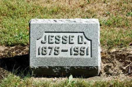 MUMAW, JESSE D. - Coshocton County, Ohio   JESSE D. MUMAW - Ohio Gravestone Photos