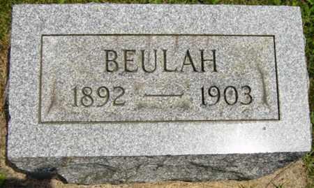 MYSER, BEULAH - Coshocton County, Ohio | BEULAH MYSER - Ohio Gravestone Photos