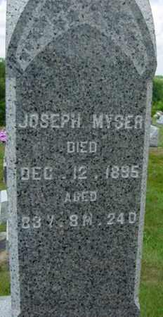 MYSER, JOSEPH - Coshocton County, Ohio   JOSEPH MYSER - Ohio Gravestone Photos