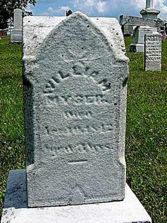 MYSER, WILLIAM - Coshocton County, Ohio | WILLIAM MYSER - Ohio Gravestone Photos