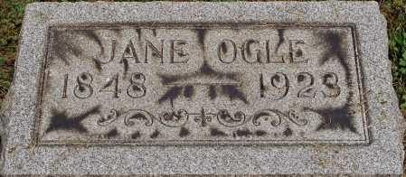 OGLE, JANE - Coshocton County, Ohio   JANE OGLE - Ohio Gravestone Photos