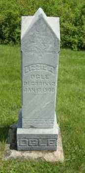 OGLE, LIZZIE A - Coshocton County, Ohio   LIZZIE A OGLE - Ohio Gravestone Photos