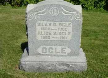 OGLE, SILAS DEXTER - Coshocton County, Ohio | SILAS DEXTER OGLE - Ohio Gravestone Photos