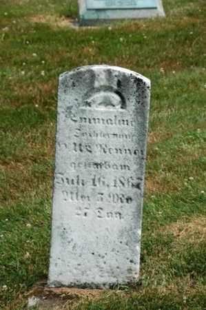 RENNER, EMMALINE - Coshocton County, Ohio   EMMALINE RENNER - Ohio Gravestone Photos
