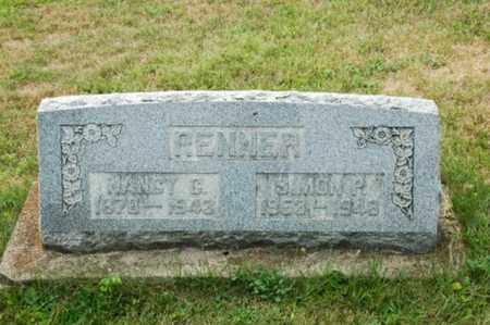 RENNER, SIMON P. - Coshocton County, Ohio | SIMON P. RENNER - Ohio Gravestone Photos