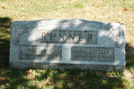 RENNER, WILLIAM B. - Coshocton County, Ohio | WILLIAM B. RENNER - Ohio Gravestone Photos