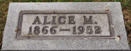 MARQUAND SHIPPS, ALICE - Coshocton County, Ohio | ALICE MARQUAND SHIPPS - Ohio Gravestone Photos