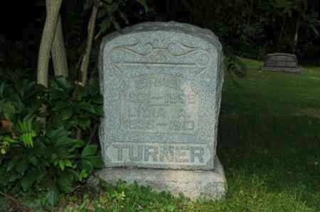 TURNER, ISRAEL - Coshocton County, Ohio | ISRAEL TURNER - Ohio Gravestone Photos