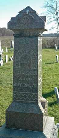 LYONS, JACOB - Crawford County, Ohio   JACOB LYONS - Ohio Gravestone Photos
