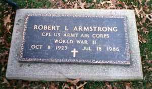 ARMSTRONG, ROBERT L. - Cuyahoga County, Ohio | ROBERT L. ARMSTRONG - Ohio Gravestone Photos