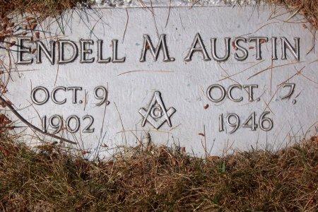 AUSTIN, ENDELL M - Cuyahoga County, Ohio   ENDELL M AUSTIN - Ohio Gravestone Photos