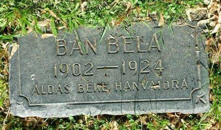 BAN, BELLA - Cuyahoga County, Ohio   BELLA BAN - Ohio Gravestone Photos