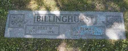 BILLINGHURST, ELMA D. - Cuyahoga County, Ohio | ELMA D. BILLINGHURST - Ohio Gravestone Photos
