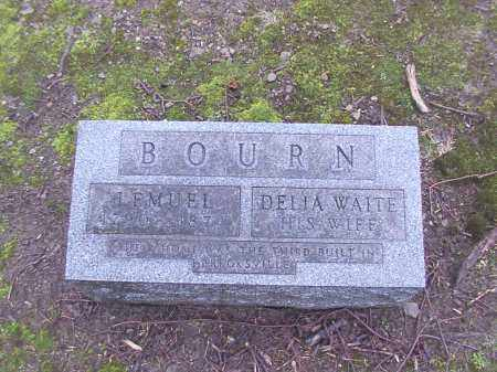 BOURNE, LEMUEL - Cuyahoga County, Ohio | LEMUEL BOURNE - Ohio Gravestone Photos