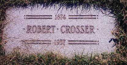 CROSSER, ROBERT - Cuyahoga County, Ohio   ROBERT CROSSER - Ohio Gravestone Photos