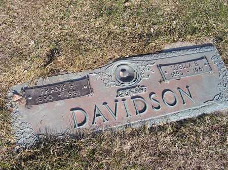 DAVIDSON, LUELLA BELLE - Cuyahoga County, Ohio | LUELLA BELLE DAVIDSON - Ohio Gravestone Photos