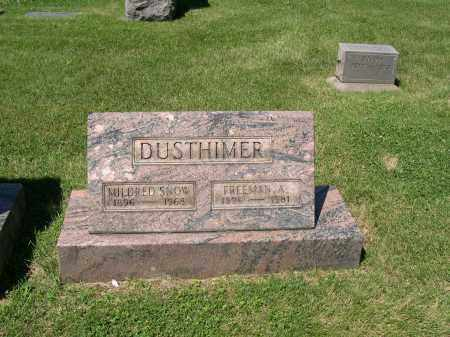 SNOW DUSTHIMER, MILDRED - Cuyahoga County, Ohio | MILDRED SNOW DUSTHIMER - Ohio Gravestone Photos