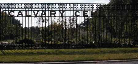 CALVARY CEMETERY, CEMETERY ENTRANCE - Cuyahoga County, Ohio | CEMETERY ENTRANCE CALVARY CEMETERY - Ohio Gravestone Photos