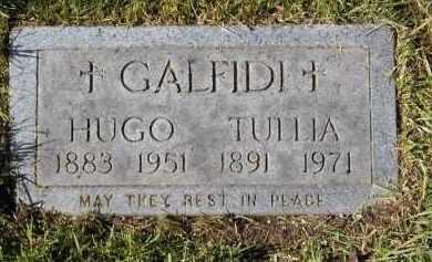 GALFIDI, TULLIA - Cuyahoga County, Ohio | TULLIA GALFIDI - Ohio Gravestone Photos