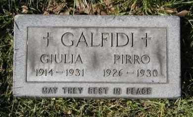 GALFIDI, JULIA - Cuyahoga County, Ohio | JULIA GALFIDI - Ohio Gravestone Photos