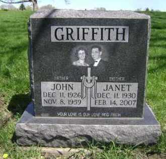 GRIFFITH, JOHN - Cuyahoga County, Ohio | JOHN GRIFFITH - Ohio Gravestone Photos