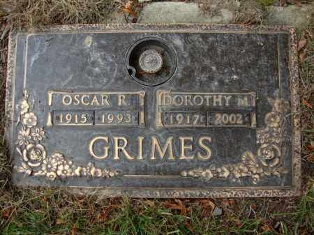 GRIMES, OSCAR - Cuyahoga County, Ohio   OSCAR GRIMES - Ohio Gravestone Photos