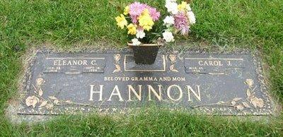 HANNON, ELEANOR CATHERINE - Cuyahoga County, Ohio   ELEANOR CATHERINE HANNON - Ohio Gravestone Photos