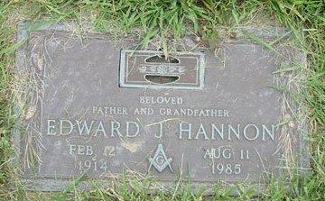 HANNON, EDWARD JAMES - Cuyahoga County, Ohio   EDWARD JAMES HANNON - Ohio Gravestone Photos