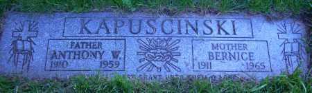 KAPUSCINSKI, ANTHONY W. - Cuyahoga County, Ohio | ANTHONY W. KAPUSCINSKI - Ohio Gravestone Photos