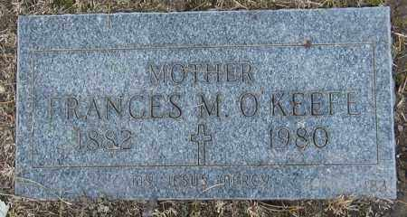 SEITZ O'KEEFE, FRANCES M. - Cuyahoga County, Ohio | FRANCES M. SEITZ O'KEEFE - Ohio Gravestone Photos