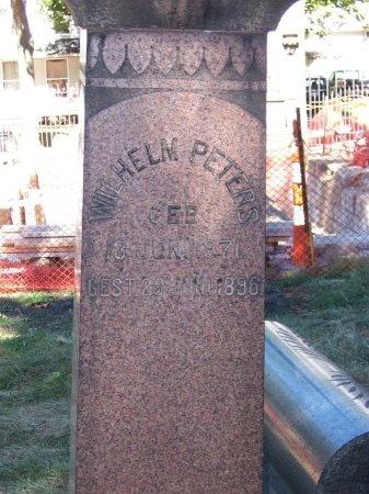 PETERS, WILHELM - Cuyahoga County, Ohio   WILHELM PETERS - Ohio Gravestone Photos