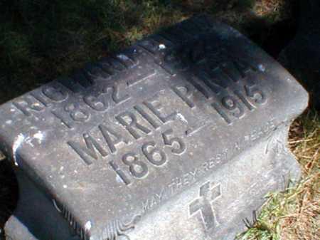 PINTA, MARIE - Cuyahoga County, Ohio | MARIE PINTA - Ohio Gravestone Photos