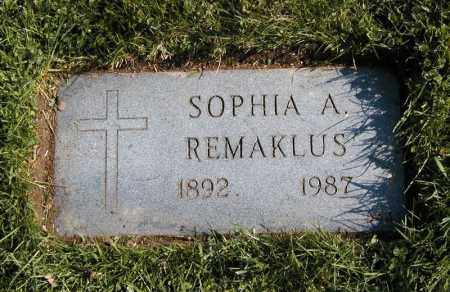 REMAKLUS, SOPHIA A. - Cuyahoga County, Ohio | SOPHIA A. REMAKLUS - Ohio Gravestone Photos
